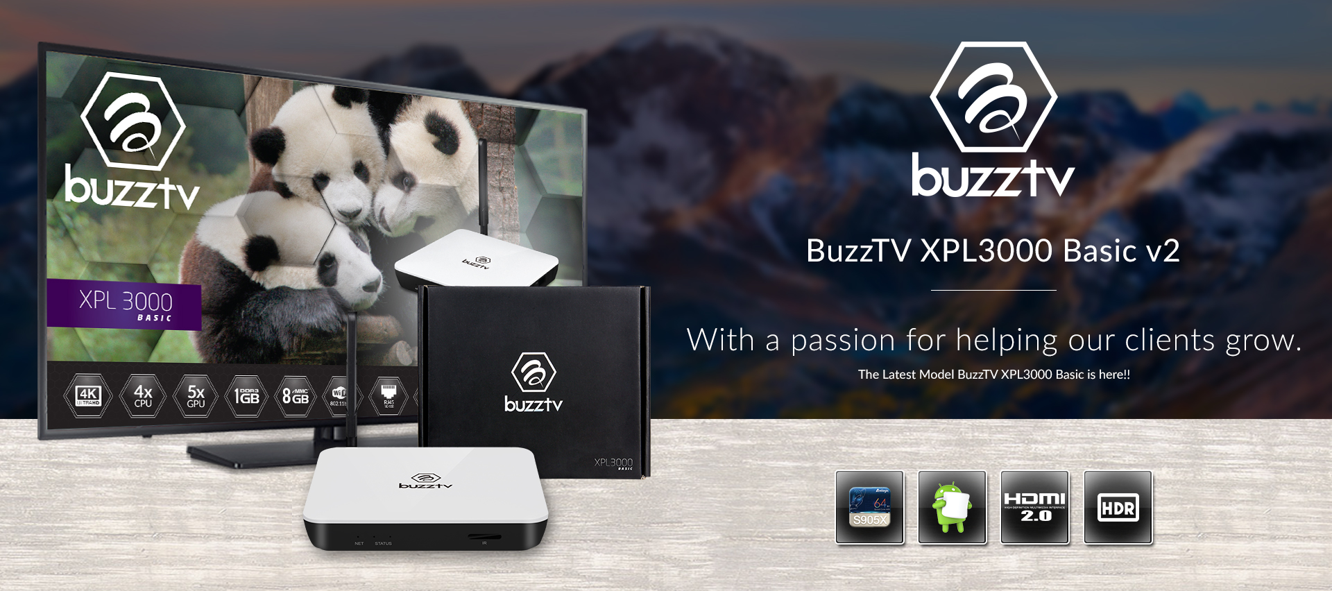 Official BuzzTV Android Media Players | UK & Europe